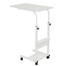 Składane biurko komputerowe kompaktowe obrotowe biurko składany stół do laptopa 60*40 *(68-83)cm stojące biurko regulowany stół do laptopa tanie tanio CN (pochodzenie) Laptop Table Density Board Laptop biurko 60x40x(68-83)cm