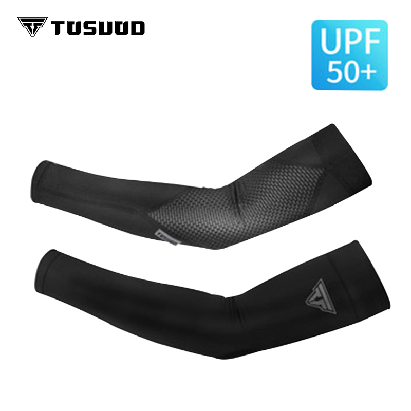 TOSUOD Mens Ice Sleeve Silk Sun Summer Outdoor Driving Arm Womens Sports Riding Hand