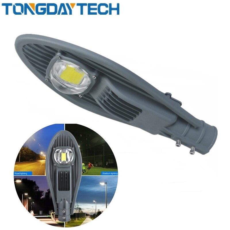 LED Street Light 30W 50W No Solar Street Light AC85-265V Off Road Led Street Lamp Plaza Eclairage Led Exterieur Outdoor IP65 1