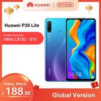 Version mondiale Huawei P30 Lite 4GB 128GB Smartphone 6.15 pouces Kirin 710 Octa Core téléphone portable EMUI Android 9.0 téléphone portable