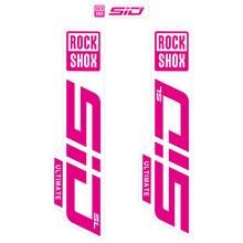 2021 rock shox sid sl garfo adesivo, fundo claro/sem fundo para mtb mountian bicicleta ciclismo decalques