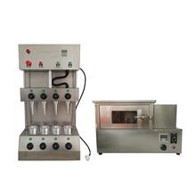 4 шт. модель пищевого процесса закуски пиццы конус выпечки машина мороженого конус машина