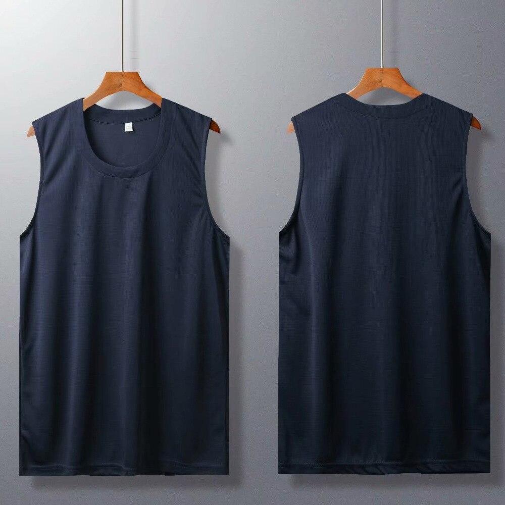 גברים כדורסל גופיות ספורט אימון כדורסל חולצה לנשימה אלסטי נשים Loose ריצה טי חולצות גודל אסיה