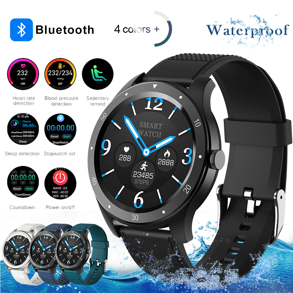 RM-S07 Smart Watch Touch Smart Watch Men Women Sports Heart Rate Monitor Smartwatch For IOS Android Phone Sports Fitness Watches