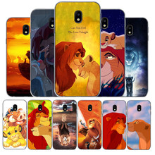 Cartoon Movie Lion King Cases Phone Case For Samsung Galaxy J5 J7 2016 J3 J5 J7 2017 J3 J4 J6 J7 J8 2018 J4 J6 plus(China)
