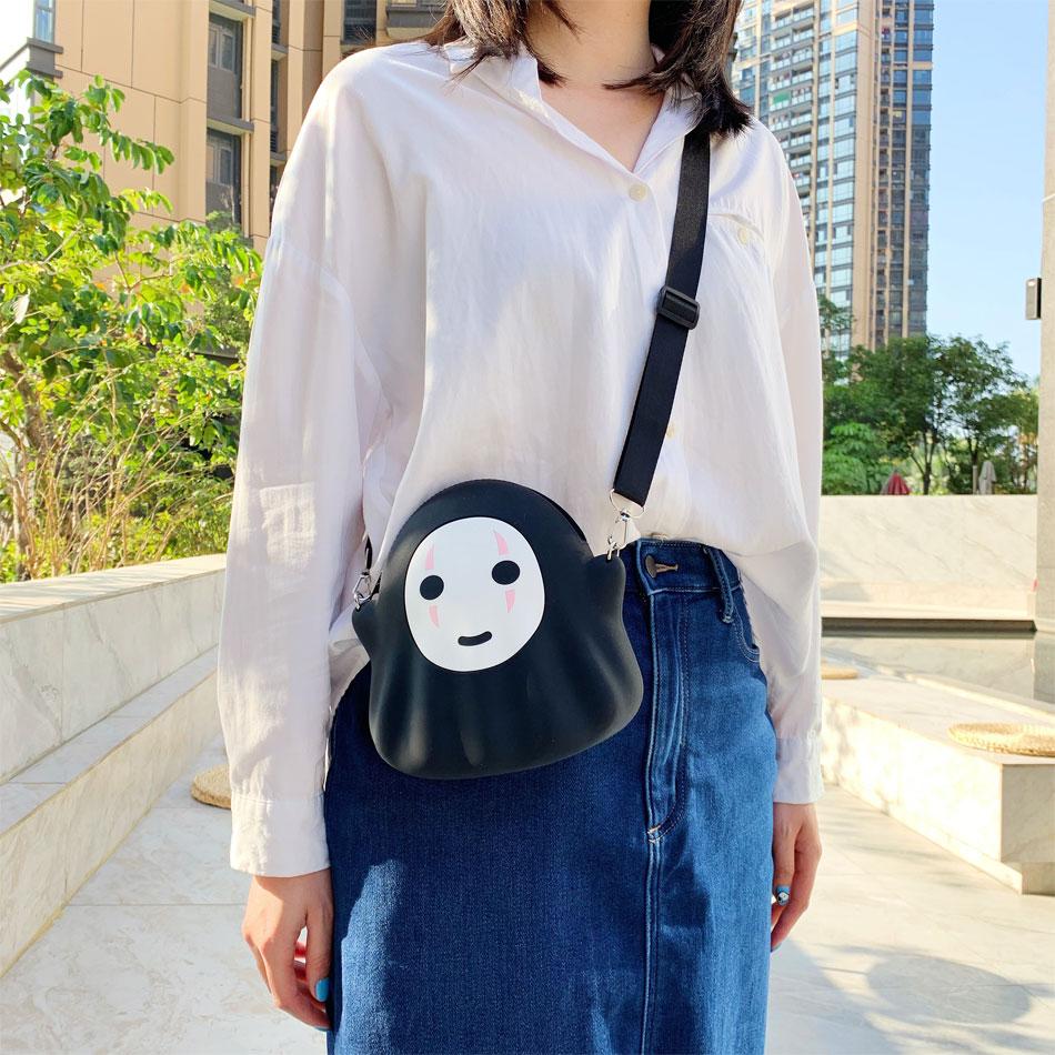 Spirited Away No Face Shoulder Bag