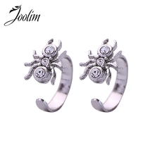 JOOLIM High End Vintage Spider Clip On Earring Insect