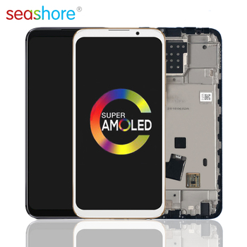 цена на ORIGINAL For MEIZU 16X LCD Touch Screen Digitizer Assembly For Meizu 16x Display with Fingerprint Frame Replacement M872Q M872H