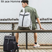 Mr.ace Homme the cross design brand big laptop backpack men travel backpack for women colle