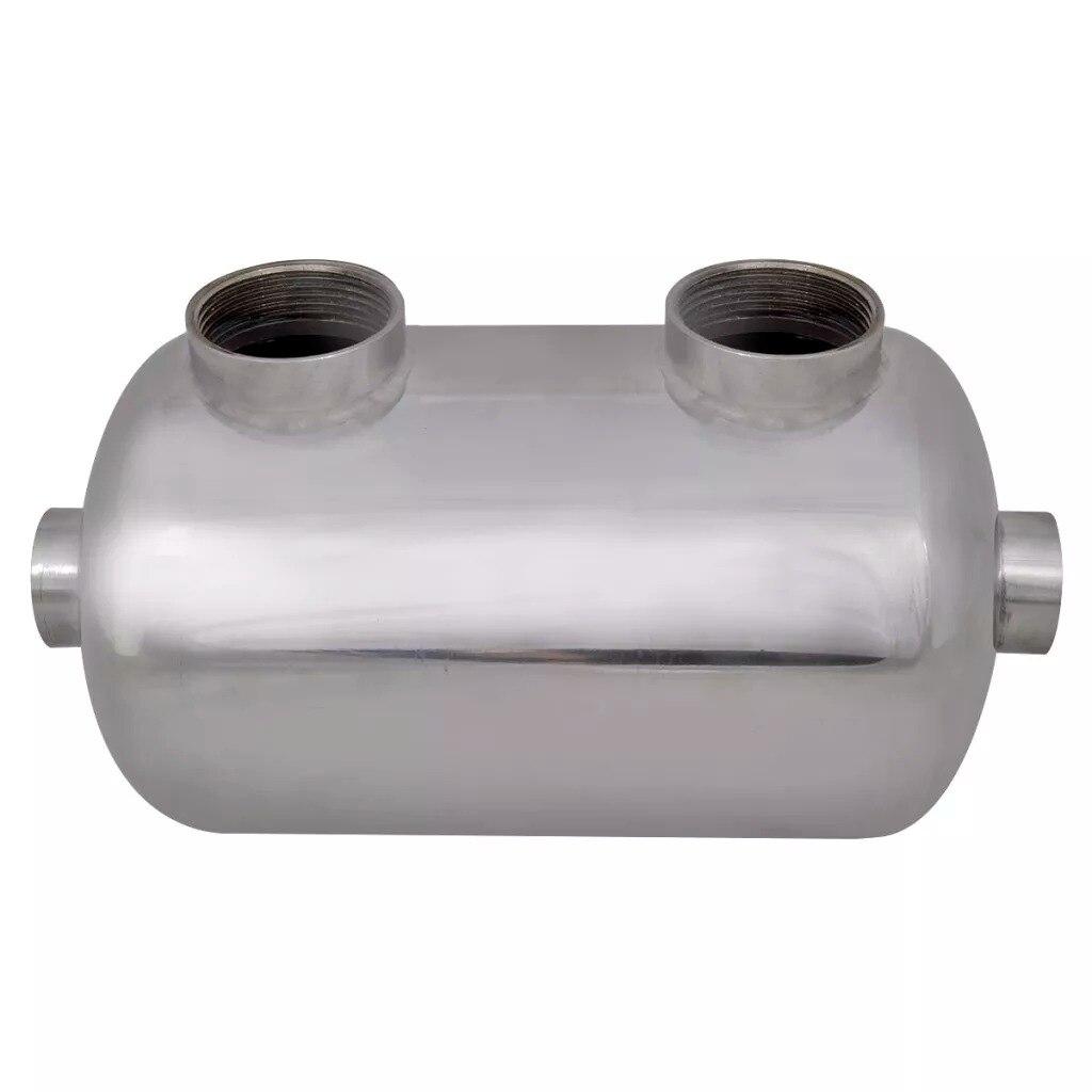 Trocador de calor resistente à corrosão e durável da associação do material de aço inoxidável do permutador de calor 292x134mm 28 kw v3 da associação - 3