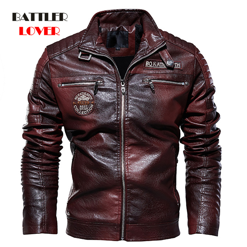 2019 Men's Natural Real Leather Jacket Men Motorcycle Hip Hop Biker Winter Coat Men Warm Genuine Leather Jackets Plus Size 3XL