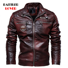 2020 Men's Natural Real Leather Jacket Motorcycle Hip Hop Biker Winter Coat for Male  Warm Genuine Leather Jackets Plus Size 3XL