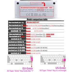 Image 3 - Laptop tastatur abdeckung für macbook air 13 pro 15 zoll A1466 A1502 A1278 A1398 EU SILIZIUM TASTATUR ABDECKUNG Farbe Schutzhülle Film