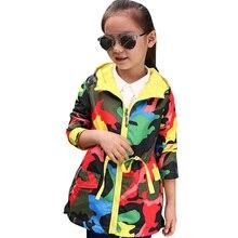 Abesay Autunno Giacca Sportiva Per Le Ragazze Camouflage Rivestimento Delle Ragazze di Primavera Per Bambini Cappotti Adolescenti Abbigliamento Per Le Ragazze 4 6 8 10 12 anni
