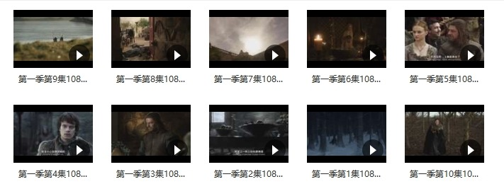 权力的游戏1-8季全集未删减 迅雷百度云高清资源打包下载图片 第5张