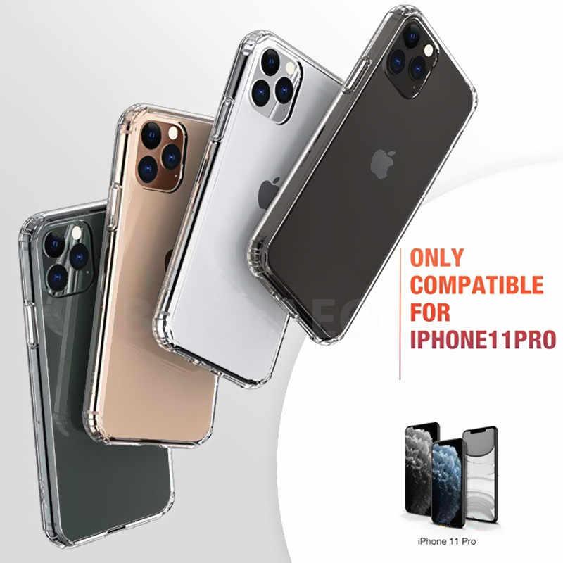 高級シリコン耐衝撃ケース iphone XR X XS 最大 6 6S 7 8 プラス透明ソフトファッション iphone 11 プロマックス電話ケースカバー