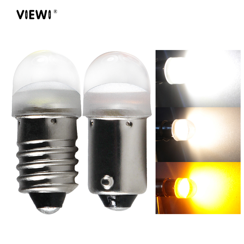 BA9S T4W E10 LED 6v 24v 12v small lamp Instrument light Dc <font><b>6</b></font> <font><b>12</b></font> <font><b>24</b></font> volt car auto Indicator Warning signal bulbs car-styling lamp image