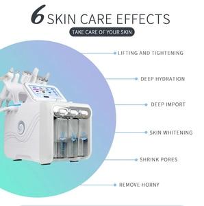 Image 3 - 6 In 1 H2O2 Water Oxygen Jet Peel Hydra Beauty skin Cleansing Hydro Dermabrasion Hydra facial Machine Water Aqua Peeling