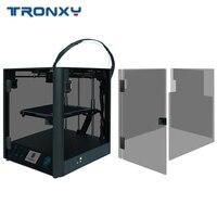Corexy titan extrusora tronxy d01 3d impressora diy núcleo xy guia linear industrial trilho 3d kit máquina impressão facesheid