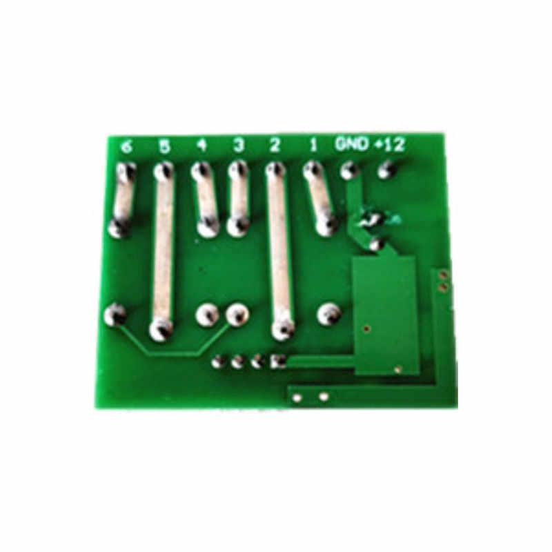 433Mhzรีโมทคอนโทรลไร้สายสวิทช์DC 12V 2chรีเลย์โมดูลเครื่องส่งสัญญาณRF 433Mhz