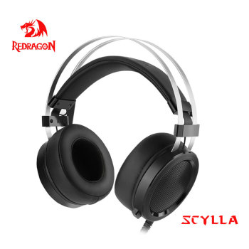 Redragon SCYLLA H901 Gaming Headphones Gamer Surround Pro Wired Computer Stereo headset Earphones With Microphone For PC PS4 1