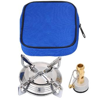 Portable Kerosene Stove Camping Picnic Burner Furnace Sturdy Durable Camping Cookware Outdoor Portable Supplies Silver Cookware fire maple camping cookware outdoor heat collection pot camping stove gas burner