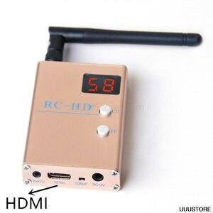 Fpv 5.8G 5.8 Ghz 48CH 48 Kanalen RC832HD RC-HD Ontvanger Hdmi Met A/V En Stroomkabels Voor quadcopter F450 S500 S550 RC832
