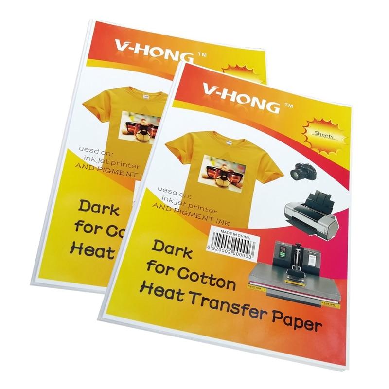 Sublimation Cotton Heat Transfer Paper Super Soft for Light Fabrics Yellow Line