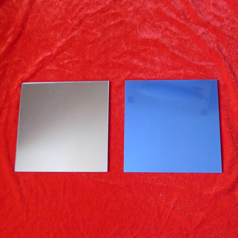 Specialized Reflector For Planar Aluminized Front Surface Mirror Projection