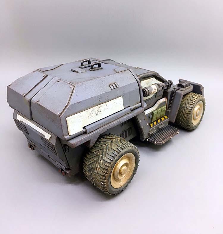 В наличии детские подарки 1/27 весы 21 см диких носорогов Скаут штурмовая машина модель грузового автомобиля для фанатов детские подарки - 5