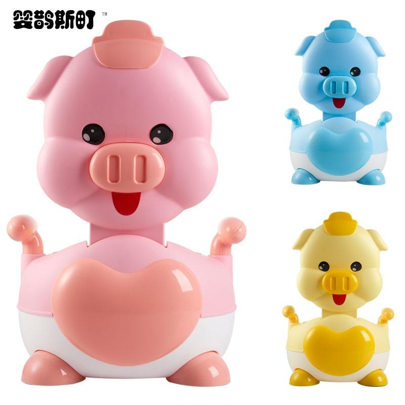 Extra-large No. CHILDREN'S Toilet Cartoon Pig Pedestal Pan Men And Women Baby Urinal Kids Toilet Infant CHILDREN'S Potty