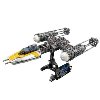 05143 2203Pcs Compatible With Lepining Star Y-wing Wars 75181 Set Building Blocks Bricks DIY Toys Kid Gift