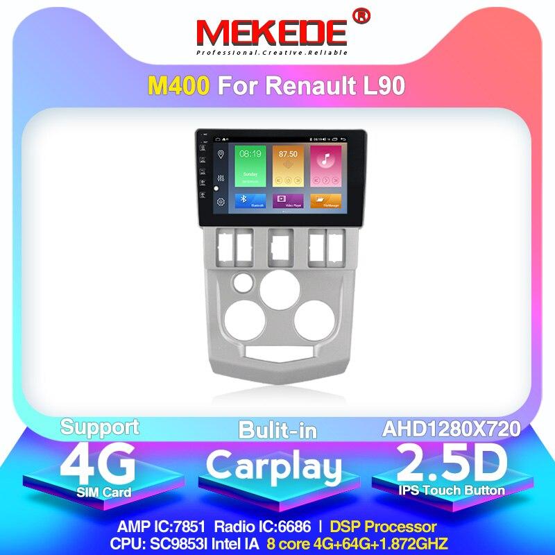 MEKEDE M400 For Renault Logan 1 2004 2005 2006 2007 2008 2009 Car Radio Multimedia Video Player Navigation GPS Android 10.0 Ips