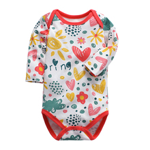 Newborn Baby Bodysuits Long sleeve brand new Infant Boy girl Jumpsuits Cotton Coveralls Cartoon boy Clothes kid clothing