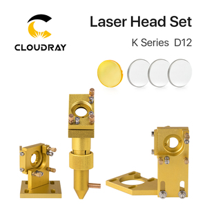 Image 2 - Cloudray K סדרת כחול זהב CO2 לייזר ראש סט עם עדשת מראה עבור 2030 4060 K40 לייזר חריטת מכונת חיתוך
