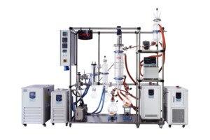 Полностью Модернизированная система молекулярной дистилляции пленочной пленки