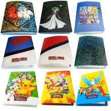 הכי חדש סגנונות 80/240pcs מחזיק אלבום צעצועי חידוש מתנה Pokemones כרטיסי ספר גלרית
