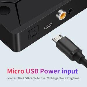 Image 4 - DISOUR Bluetooth 5,0 Audio Sender 3,5mm AUX Koaxial optische Faser Jack Stereo Wireless Adapter Für TV PC Bluetooth Lautsprecher