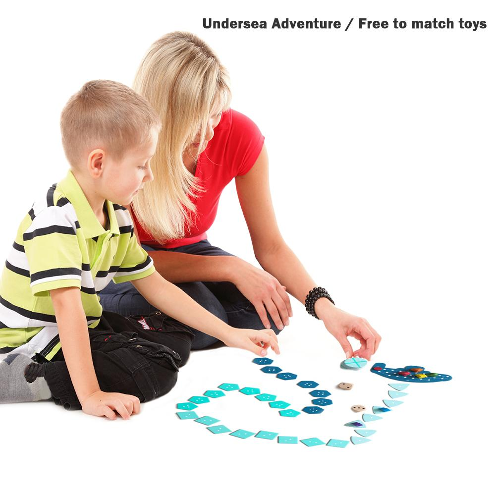 Adventure Board Game Children Kid Hot Selling Comfortable Simplicity Undersea Interactive Funny Toy English Version image