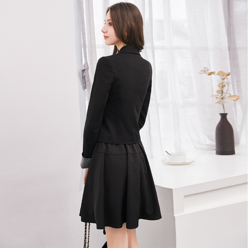 Women Suits Office Sets Clothes For Work 2 Piece Formal Dress Suits Ladies Elegant Business Office Wear Blazer Jacket Dresses