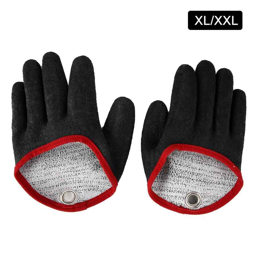 Handschoenen 1 ペアポリエチレンカットプルーフため刺す耐性防水ノンスリップ手袋安全手袋作業 XL/ XXL