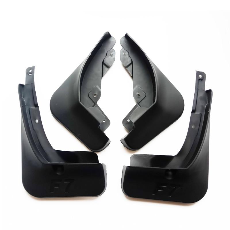 Gratis Verzending Hoge Kwaliteit Abs Plastics Auto Spatbord Spatborden Spatlappen Voor Grote Muur Haval F7 F7X