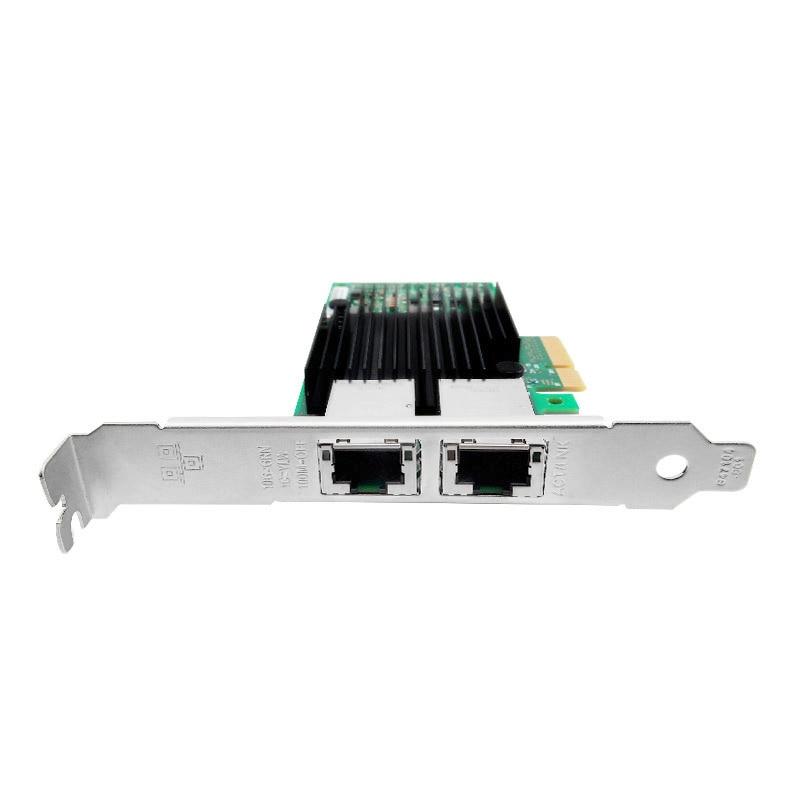 Hot sale X550-T2 10G Dual port RJ45 PCIe3.1 X8 Network Card Intel X550 4