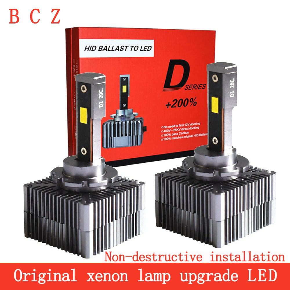 Bulb Car-Light D2R D5s Led D1S 10000LM D4S 6000K Canbus D3S D8S D2S Headllamp 90W D3R