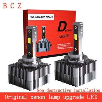 Car light D1S D2S D3S D4S D8S D5S LED canbus headllamp 90W 10000LM 12V 6000K automóviles bulb D1R D2R D3R D4R светодиодные л
