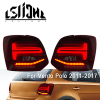 LSlight Taillight Assembly For Vento Polo 2011 2012 2013 2014 2015 2016 2017 LED Tail lights Parking Lamp Brake Turn Signal