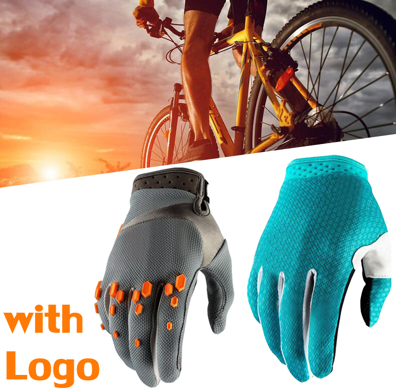 3D <font><b>GEL</b></font> Pad Bright Green Sport <font><b>Gloves</b></font> With Reflective Half Finger MTB <font><b>Bike</b></font> <font><b>Gloves</b></font> Cycling <font><b>Gloves</b></font> men <font><b>Mountain</b></font> Bicycle <font><b>Gloves</b></font> image