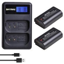 2Pc DMW-BLJ31 DMW BLJ31 bateria + LCD USB podwójna ładowarka dla Panasonic LUMIX S1, S1R, S1H, LUMIX serii S kamery lustra