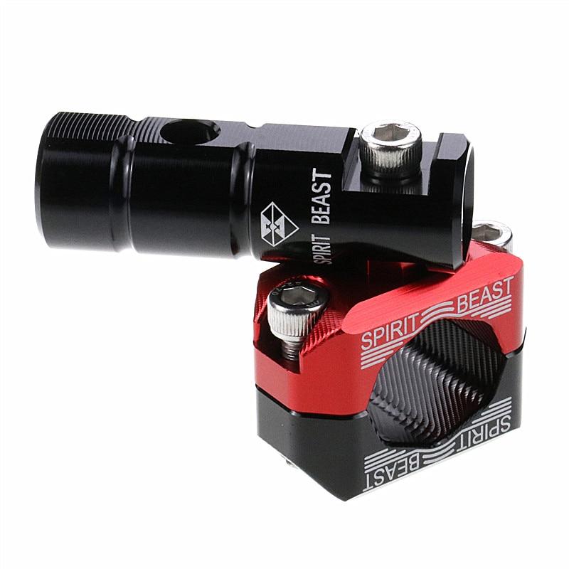 Мотоциклетный светильник Spirit Beast зажим L7 для 22-28 мм руль или бампер универсальный для Honda Ducati Yamaha Ktm или более