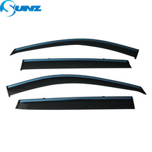Stainless steel  window Visor for NISSAN QASHQAI J10 2007-2013 side deflectors SUNZ